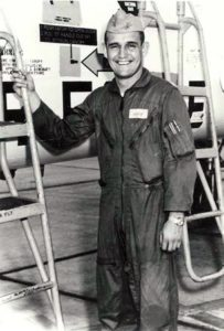 Mike Hoff as a Lieutenant