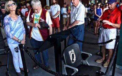 New seat at Jumbo Shrimp games will remain empty to honor POW/MIA service members