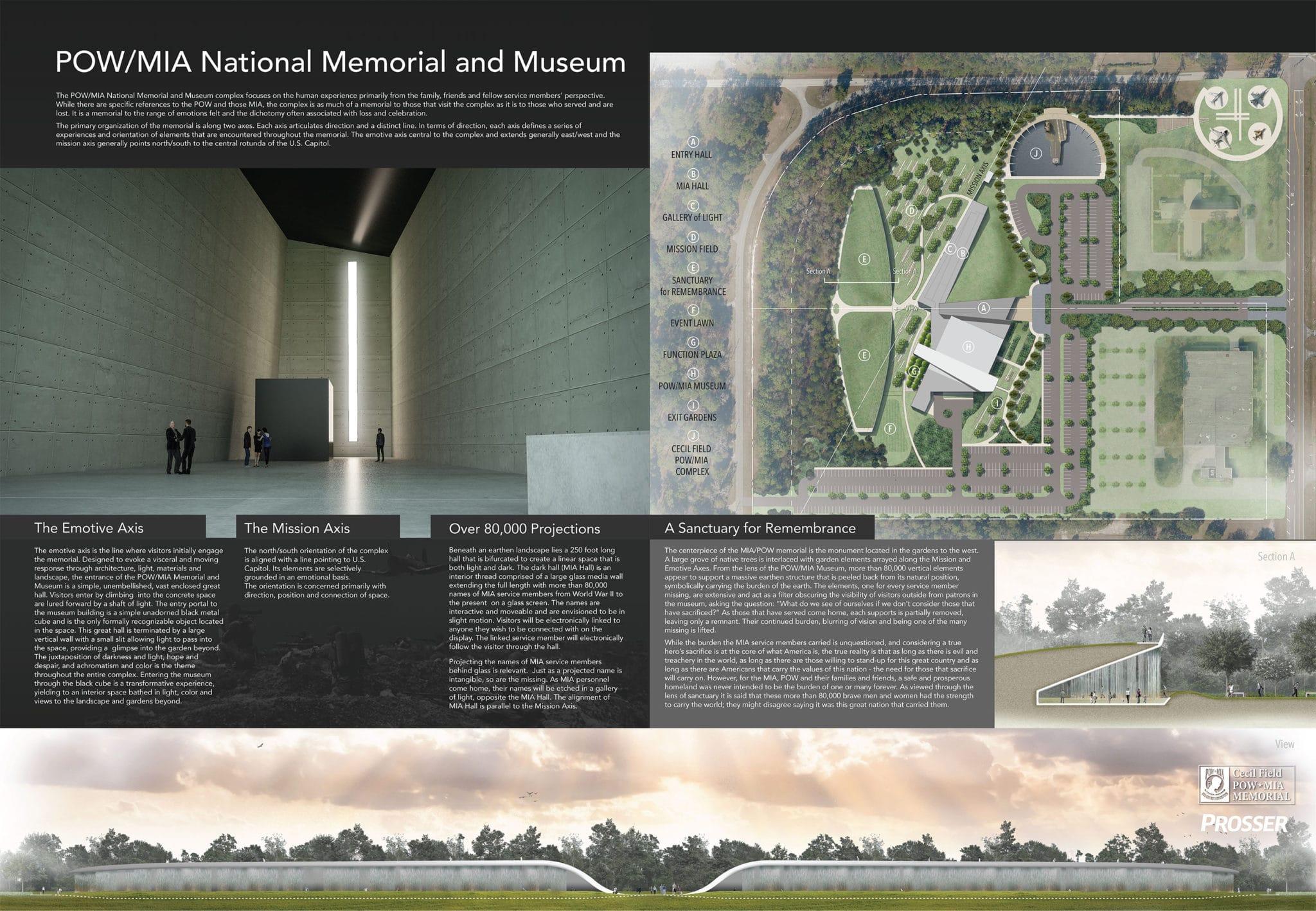 POW-MIA-Memorial-Rendering-July-2018 - Cecil Field POW/MIA Memorial