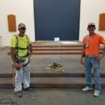Painters Andy Gause (left) & David Hardesty (right)