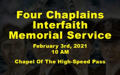 Four Chaplains Interfaith Memorial Service 2021
